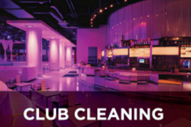 Club cleaning